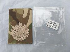 British Army issue WARRANT OFFICER (WO 1) MTP RANK SLIDE - SET OF 2 RANK SLIDES
