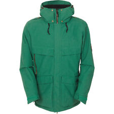 2016 MENS 686 PARKLAN SNOWBOARDING JACKET $275 XXL army green USED