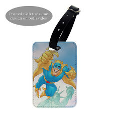 Bananaman New York Luggage Suitcase Baggage Tag - T989