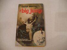 THE BIG JUMP BY LEIGH BRACKETT - ACE #G-683 -LATE '60s PB EDIT-JEFF JONES COVER!