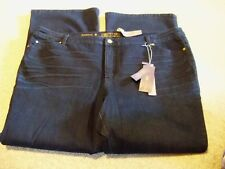 Jennifer Lopez new with tags size 24W Short dark blue jeans new with tags