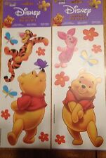 Disney Winnie The Pooh & Friends Decorative Wall Decal Stickers 2 Sheets So Cute