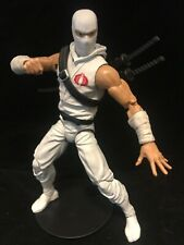 Custom GI JOE Classified Classic Storm Shadow , articulated icons , cobra island