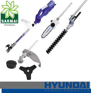 Hyundai 35704 Decespugliatore multifunzione Elettrico 4 in 1 bordatore 1400 W