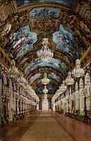 Chiemsee Herrenwörth Schloss Herrenchiemsee Bayern alte AK ~1910 Spiegel Galerie