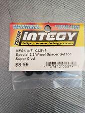 Integy ClodBuster Super Clod 2.2 Wheel Spacer Set Grey INTC22845 BNIP Crawler