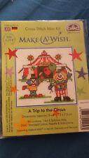 Pide un deseo-un viaje al circo puntada cruzada contada Kit BNIP