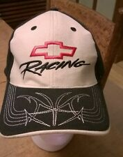Chevrolet Racing NASCAR GM Adjustable Baseball Hat Cap Black Khaki
