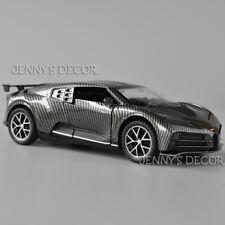 1:32 Diecast Model Car Toy Bugatti Centodieci Pull Back Replica w/ Sound & Light