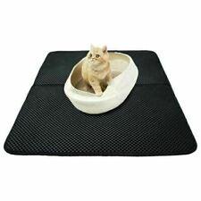 More details for large cat litter mat trapper foldable pad pet rug rubber