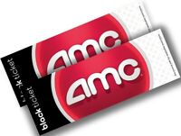 AMC Theatres 2 (Two) Black Tickets Movie E-Tickets - Instantly Delivery !!!