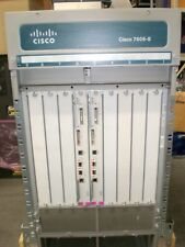 """Cisco 7609-s + 2 x fan-mod-9shs + 2 x rsp720-3cxl-ge + CABLE """"in tray"""" + Rack Mount"""