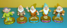 McDonalds Happy Meal Toys Disney's  100 yrs of Magic 5 Dwarfs