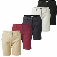 Craghoppers Womens Kiwi Pro III Stretch Shorts Ladies 3 Outdoor UPF Golf Walking