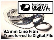 Cine Film To Digital Download TRANSFER SERVICE 9.5mm 400ft Frame by Frame Scan