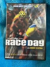 Race Day with Robbie Ventura by Real Rides Dvd 2007 Racing Simulation Train Nwt