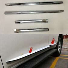 For Toyota Land Cruiser Prado FJ150 LC150 10-2018 Car Side Door Body Trim Chrome