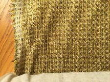 Upholstery Fabric Chenile Golden Brown Gray Green Commercial Grade