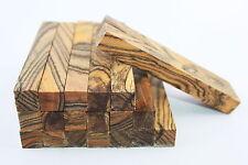 Hard Tiger stripe Wood pen/game calls/handles turning blank 127mmx15mmx15mm