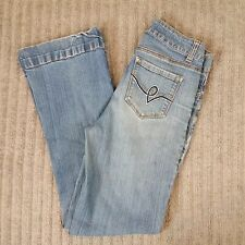 "Woolworth's Flare Blue Jeans for Women Size 34 To Fit Hip 30"" Inseam"