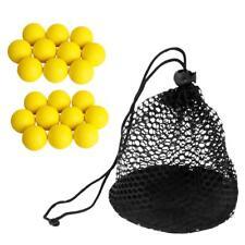 20 x Boules De Golf Avec Sac De Stockage Golf et Tennis de Table Léger Nylon