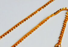 gold plated anklet Indian Asian Bridal Jewellery Ethnic Wear   U104