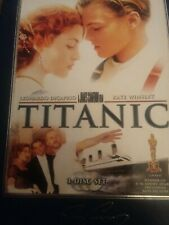 Like New 3 Disc TITANIC THX MOVIE Special Collector's Box Set Dicaprio Winslet