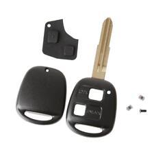 Coque Plip Remote Key Télécommande 2 Boutons Clé pour Toyota Yaris