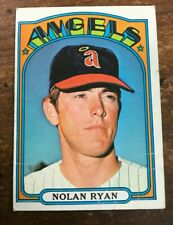 1972 TOPPS BASEBALL CARD #595 NOLAN RYAN BV $100 LOW GRADE!!