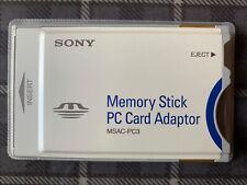 Sony MSAC-PC3 PCMCIA-Adapterkarte für Memory Stick CARD ADAPTER notebook mac pc