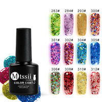 MTSSII 7ML Diamond Nail Gel LED UV Gel Manicure Shiny Sequin Soak Off Varnish