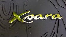 CITROEN XSARA Coffre Hayon Emblème Badge Decal Logo Chrome Arrière 9631512380