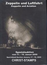 Christ Zeppelin et Aviation, Vente aux enchères spéciale 17 19. Januar 2009 NEUF