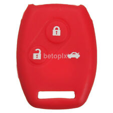 Silicone Remote Key Protect Case Cover Rubber Fob For Honda Accord FR