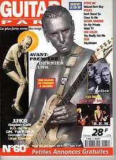 "GUITAR PART #60 ""Neil Young,Skunk Anansie,Steve Vai,Police,REM,Kinks"" (REVUE)"