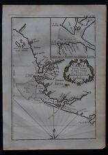 Afrique - Cartes XVIIIième - Rivière Sierra Leona - BELLIN
