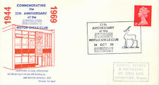 "2453 ""25th ANNIVERSARY of the ANTELOPE MOTOR CYCLE CLUB 24 OCT 69 COVENTRY"" Cvr"
