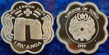 Tonga 1 Pa´anga 2000 Millennium, 925 er Silber, 30g, Aufl. 10000, PP
