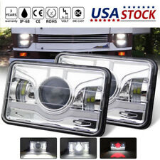 4X6'' LED Headlight Hi/Low Beam For Freightliner Classic FLB Truck Western Star