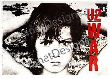 U2 Postcard Photo Bono War Album Original Issue Collectable 4x6 1983