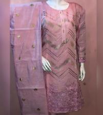 New Embroidered Paper Cotton salwar kameez 3pc ladies  suit Summer 2020