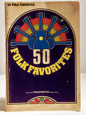 Vintage Book: 50 Folk Favorites by Singspiration  (1973, 50 Songs, Softbound)
