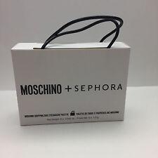 MOSCHINO + SEPHORA SHOPPING BAG EYESHADOW PALETTE- BRAND NEW IN BOX- AUTHENTIC