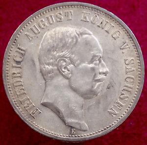 Saxony 3 Marks 1908 E (G2608)