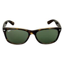 Ray-Ban New Wayfarer Tortoise/Green 52mm Sunglasses RB2132 902 52-18