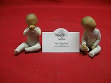 WILLOW TREE 'TWO TOETHER' LORDI 2007 #26188 FIGURINES WITH ORIGINALTAG