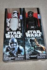 lot of 2 Star Wars Storm Trooper death trooper Figures 12""