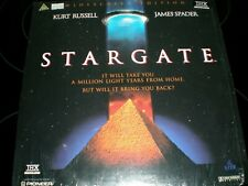 STARGATE LASERDISC, KURT RUSSLEL, THX LASERDISC 1994