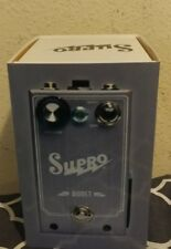 NEW SUPRO BOOST GUITAR EFFECTS BOOSTER PEDAL w/ FREE CABLE. w/box & orig pkging!