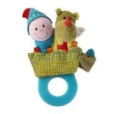 LILLIPUTIENS Zahnungshilfe Rassel Walter Babyspielzeug Beißring Greifling 86320